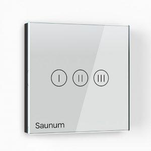 Saunum, control unit