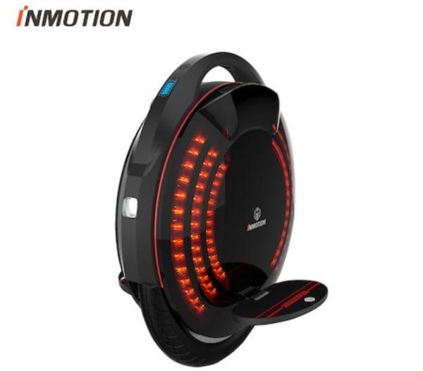 INMOTION-V8-Wheelbarrow-Aluminum-Alloy-Frame-Black
