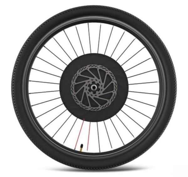 Smart-wheel-1-generation-bicycle-modified-electric-vehicle-power-steering-wheel-electric-vehicle-Black